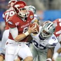 Tyler Wilson led the Razorbacks to a Cotton Bowl win over Kansas State in January - their 21st in fi...