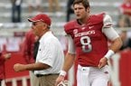 Friday's game against LSU will mark the end of Tyler Wilson's tenure at Arkansas and likely the same for John L. Smith.