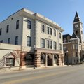 Formerly known as the Knights of Pythias Opera House, the Ozark Theater was built in 1905 north of t...