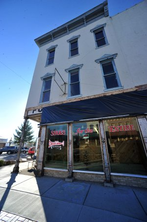 The old Dixieland Shoes store on the corner of Walnut and First streets in Rogers is being renovated by new owner John Mack of JKJ Architects. He is restoring the building, which includes the Opera House on the second floor, once a grand theater. To see a photo gallery go to nwaonline.com.