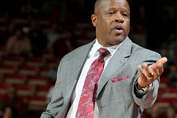 Mike Anderson is recruiting the son of an Arkansas legend.