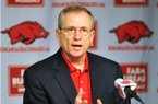 Arkansas Athletic Director Jeff Long officially announced Saturday that John L. Smith will not return as coach but gave no more details on the search.