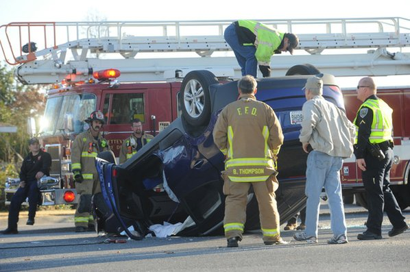 Fayetteville emergency personnel assist while ...
