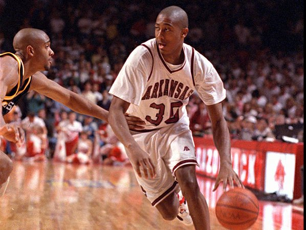 Scotty Thurman helped Arkansas to ...