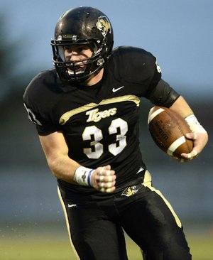 Bentonville linebacker Garrett Kaufman headlines a defense that is allowing only 195 yards per game.