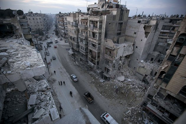destroyed-buildings-including-dar-al-shifa-hospital-are-seen-on-saar-street-after-airstrikes-targeted-the-area-in-aleppo-syria-on-thursday-nov-29-2012