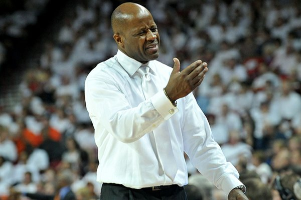 """It's new for everybody,"" Arkansas coach Mike Anderson said in reference to the new conference schedule. ""We'll see how it unfolds."
