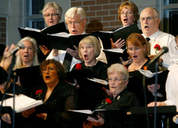 The Ozarks Chorale performs their ...