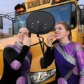 Chrystal O'Boyle, 16, right, and Megan Prettyman, 17, both members of the Fayetteville High School c...