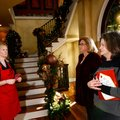 Kelli Leander, from left (above) with the Junior League of Northwest Arkansas welcomes Pam Smith and...