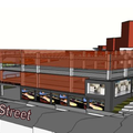 The Fayetteville City Council reviewed three locations for a downtown parking deck Tuesday. Mayor Li...
