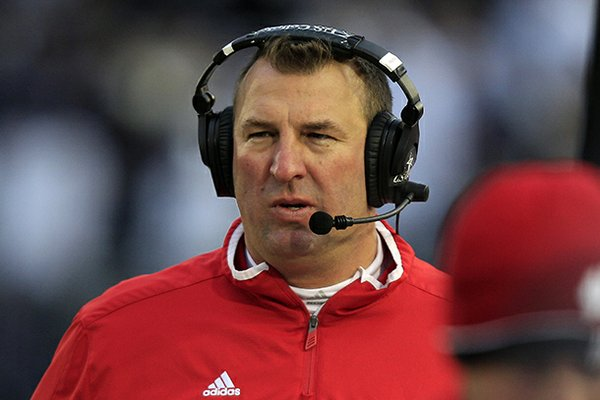 Many coaches' names were mentioned in newspapers and on television and radio, but Arkansas Athletic Director Jeff Long kept his cards so close to his vest that he shocked the whole nation when it was announced that Wisconsin's Bret Bielema was Arkansas' new head coach.