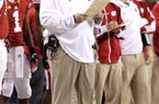 Former Wisconsin Coach Bret Bielema got the Badgers to three consecutive Rose Bowls, losing to TCU in 2011 and to Oregon in 2012 before making it to the 2013 version against Stanford with a victory over Nebraska in Indianapolis on Saturday.