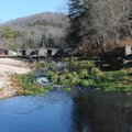 Anglers enjoy uncrowded fishing during fall and winter at Roaring River.