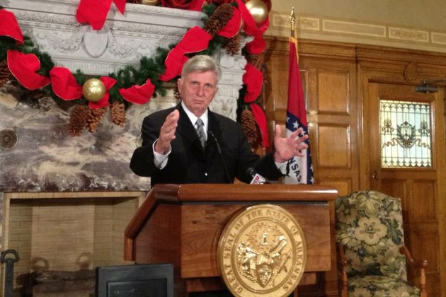 gov-mike-beebe-speaks-wednesday-in-his-conference-room-at-the-state-capitol