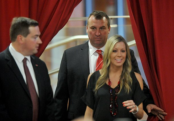 Like It Is Bielema Knows A Good Thing When He Sees It Nwadg