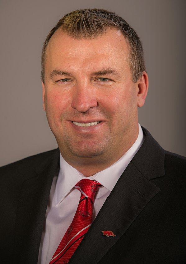 Arkansas football coach Bret Bielema