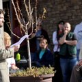 Josh Youngblood with Ozark Natural Foods speaks during a news conference Wednesday afternoon to anno...