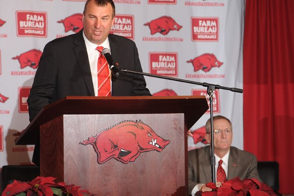 Former Wisconsin Coach Bret Bielema, who led the Badgers to a Big Ten championship earlier this month before accepting the head-coaching job at Arkansas, has young Badgers fans asking questions about his departure.