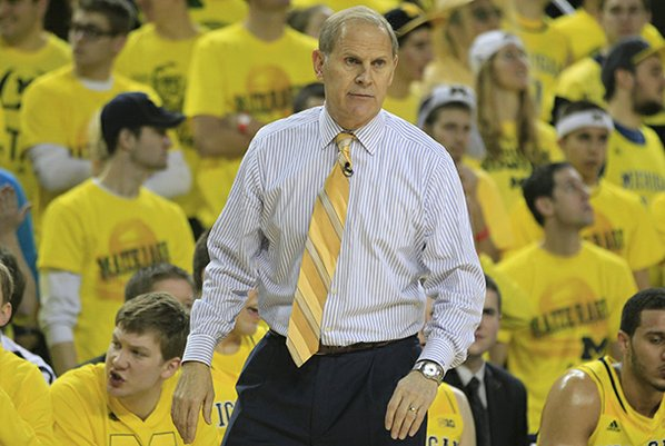 Michigan head coach John Beilein ...