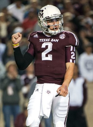 Quarterback Johnny Manziel of Texas A&M became the first freshman to win the Heisman Trophy. Can he become the second two-time winner? Archie Griffin of Ohio State did it in 1974-1975.