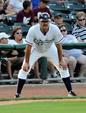 Brian Poldberg, Naturals manager, will be one of the few recognizable faces for the Naturals when the season begins.