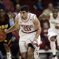 Kikko Haydar, shown in this 2011 file photo, hit all four of his 3-point attempts at Michigan last S...