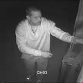 A screen capture from surveillance footage.