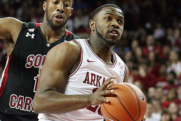 Brandon Mitchell averaged 3.5 points and 2.3 rebounds per game for Arkansas in 2011-12.