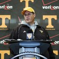Jim Chaney, who spent the last four seasons at Tennessee, was named Arkansas' offensive coordinator ...