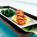 The Atlantic salmon is one of the menu items at Houlihan's in Rogers.