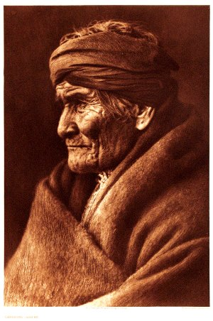 Among the important and well-known American Indians photographed by Edward Sheriff Curtis at the turn of the 20th century were Apache leader Geronimo, pictured here, Chief Joseph, Red Cloud and Medicine Crow.
