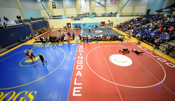 Wrestlers compete Dec. 7 at ...