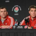 Charlie Partridge, left, was hired as Arkansas' defensive line coach on Dec. 15, 2012. Partridge has...