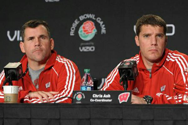 Charlie Partridge, left, was hired as Arkansas' defensive line coach on Dec. 15, 2012. Partridge has served as co-defensive coordinator with Chris Ash. Ash was hired as the Razorbacks' defensive coordinator on Dec. 11.