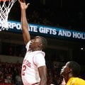 NWA Media/JASON IVESTER -- Arkansas junior Fred Gulley puts up a shot during the second half against...