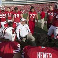 Wisconsin co-defensive coordinator Charlie Partridge, pictured in this 2011 photo, will join Arkansa...