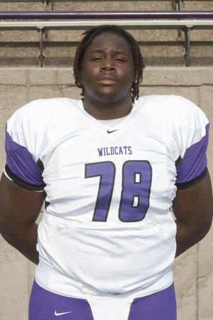 News-Times/Michael Orrell       2012-13 El Dorado Wildcat Bijhon Jackson