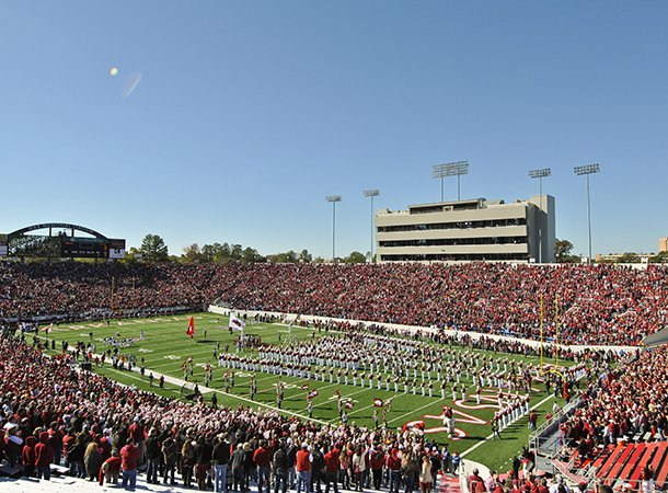 fans-fill-war-memorial-stadium-prior-to-a-game-between-arkansas-and-ole-miss-on-oct-27-2012