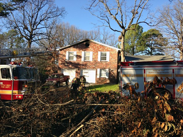 little-rock-fire-department-responded-to-a-house-fire-at-202-shenandoah-valley-drive-on-tuesday-afternoon-there-were-no-reported-injuries