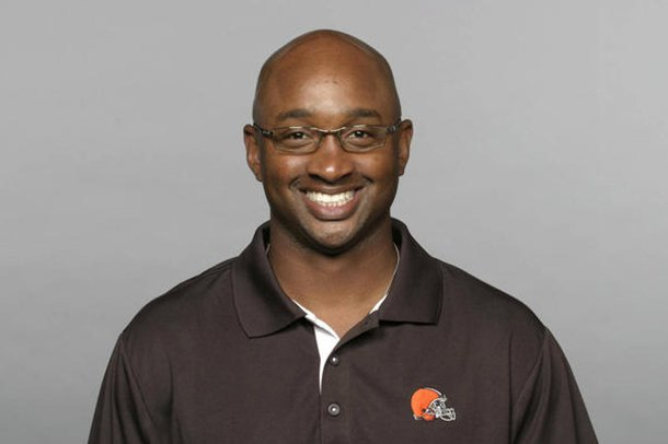 arkansas-has-hired-george-mcdonald-to-coach-receivers-he-spent-the-last-two-seasons-with-the-miami-hurricanes-after-a-stint-with-the-nfls-cleveland-browns