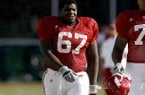 Offensive guard Alvin Bailey will not return to Arkansas for his redshirt senior season.