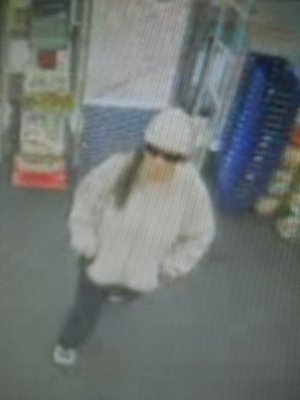 The suspect in a robbery at a Fayetteville Walgreens.
