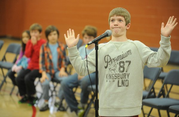 Max Stephenson, a fifth-grader at ...