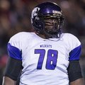 El Dorado defensive tackle Bijhon Jackson recorded his first interception in his high school career ...