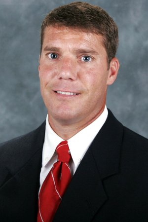 Chris Ash, new defensive coordinator and secondary coach at the University of Arkansas.