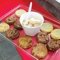 Phoebe's Treats in Fayetteville offers frozen yogurt with a variety of toppings, cookies, brownies a...