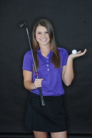 Anna Grace Lavy of Fayetteville is the girls All-NWA Media Player of the Year.