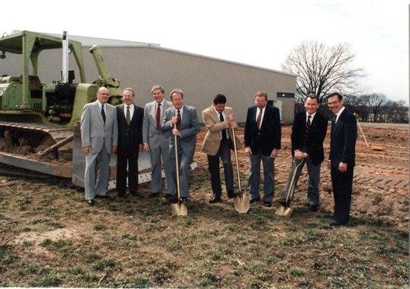 Groundbreaking ceremony for the Springdale ...