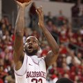 Arkansas' Marshawn Powell drives to the basket in the second half against Alabama A&M's Saturday nig...